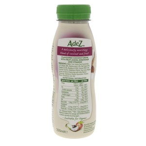 Adez Seed And Fruit Diary Free Smoothie Courageous Coconut Berry 250ml
