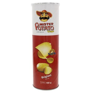 Mister Potato Crisps Original 160g