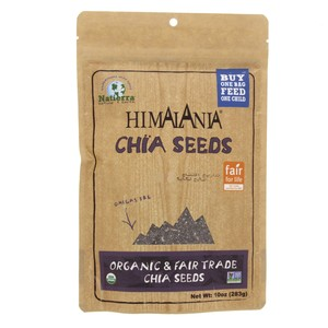 Himalania Chia Seeds  Organic And Fair Trade Chia Seeds 283g