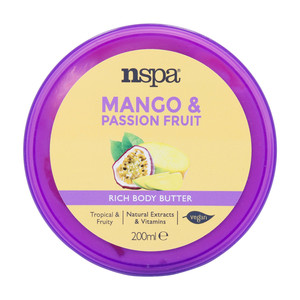 NSPA Rich Body Butter Mango & Passion Fruit 200ml