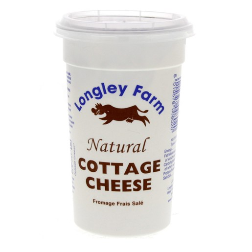 Buy Longley Farm Natural Cottage Cheese 250g - Soft Cheese