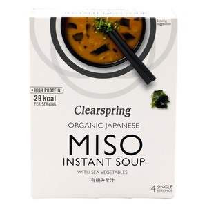 Clearspring Organic Japanese Miso Instant Soup 40g