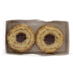 Crimbles Coconut Ring with Fruit Filling 240g 6pcs