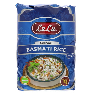 Lulu Long Grain Basmati Rice 2kg