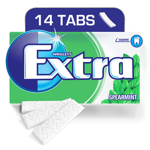 Extra Gum Spearmint, Envelope 14 Tabs