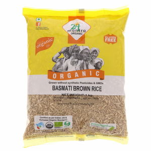 24 Mantra Organic Basmati Brown Rice 1kg
