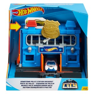 Hot Wheel City Down Town Play Set FRH28