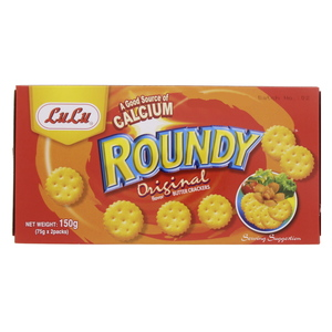 Lulu Roundy Original Butter Crackers 150g