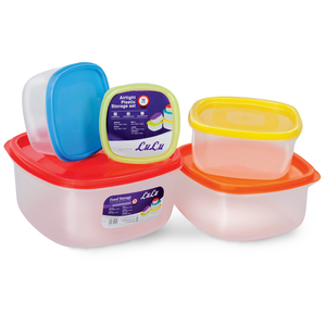 Lulu Food Container Set 10pcs Assorted
