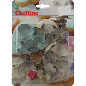 Chefline Cookie Cutter Mixed Sets F6034