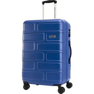 American Tourister Bricklane 4 Wheel Hard Trolley 80cm Blue