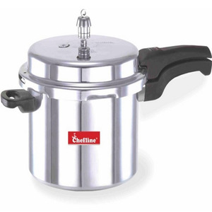 Chefline Aluminium Induction Pressure Cooker 7.5Ltr