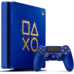 Sony PlayStation 4 500GB Slim Days Of Play Limited Edition+DS4