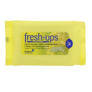 Robinson Fresh-Ups Citrus Lemon 20 Wipes