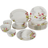 Melamine Dinner Set Flower Line 34pcs
