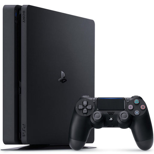 PS4 Slim Console 500GB  CUH12016 Black