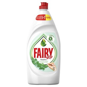 Fairy Dishwashing Liquid Sensitive Tea & Mint Leaves 1Litre