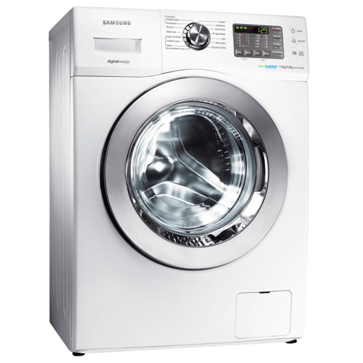 Buy Samsung Front Load Washer & Dryer WD702U4BKWQ 7Kg