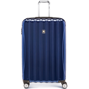 Delsey Helium Aero 4 Wheel Hard Trolley 69cm  Blue
