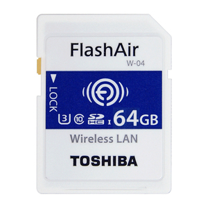 Toshiba SD Card FlashAir W04 64GB