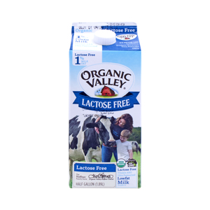 Organic Valley Lactose Free Milk Low Fat 1.89Litre