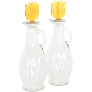 Sarina Glass Oil Bottle 2pcs Set 250ml