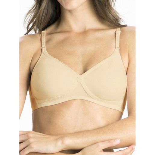 Jockey Women's Seamless Cross Over Bra 1721 Skin 34C