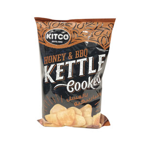 Kitco Kettle Cooked Potato Chips Honey & BBQ 170g