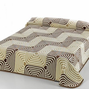 Mora Blanket 220x240cm Brown