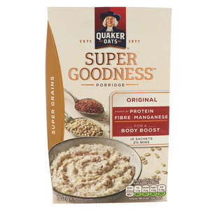 Quaker Oats Super Goodness Super Grains Original 307g
