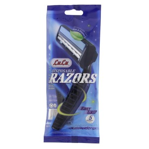 Lulu Disposable Razors Long Handle 5pcs