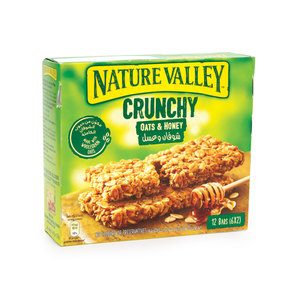 Nature Valley Crunchy Oats & Honey 12 Bars 252g