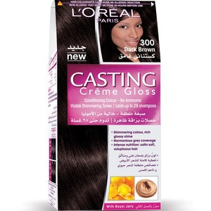 Loreal Casting Cream Gloss Dark Brown 300 1 Packet