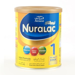 Almarai Nuralac Baby Milk Powder Stage 1 400g