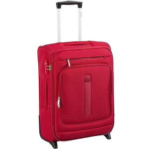 Delsey Manitoba 4Wheel Soft Trolley 71cm Red