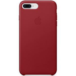 Apple iPhone 8 Plus Leather Case Red