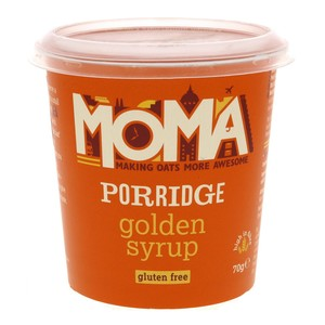 Moma Porridge Golden Syrup 70g