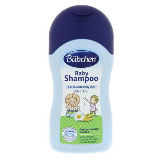 Bubchen Baby Shampoo For Delicate Baby Skin Sensitive 400ml