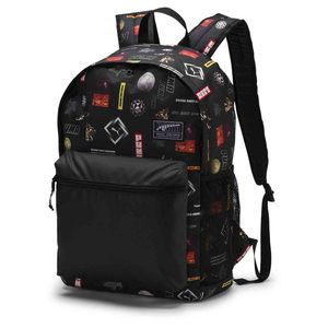 PUMA Academy Backpack Black Logo 07573304