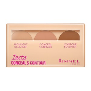 Rimmel London Insta Conceal & Contour Palette Shade 020 Medium 1pc