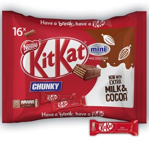 Nestle® KitKat Mini Chunky Chocolate Wafer Bag 250g