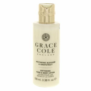 Grace Cole Softning Hand And Body Lotion Nectarine Blossom And Grapefruit 100ml
