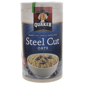 Quaker Whole Grain Steel Cut Oats 851g
