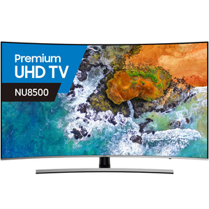 Samsung 4K Smart Premium Ultra HD Curved LED TV UA55NU8500 55inch