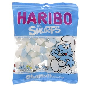Haribo Chamallows Smurfs 125g