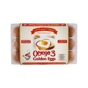 Golden Eggs Omega 3 White/ Brown 15pcs