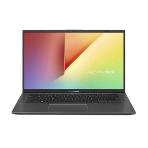 Asus Vivobook 14 A412UA-EK281T Laptop, Slate Grey - Intel i3-7020U 2.30 GHz, 4 GB RAM, 1TB HDD, Intel UHD Shared, 14 Inches LED, Windows 10, Eng-Arb-KB