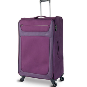Giordano Oxford 4Wheel Soft Trolley 20inch Assorted Color