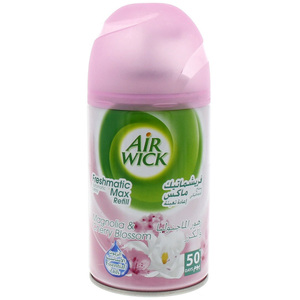 Air Wick Magnolia & Cherry Blossom Automatic Spray Refill 250 Ml