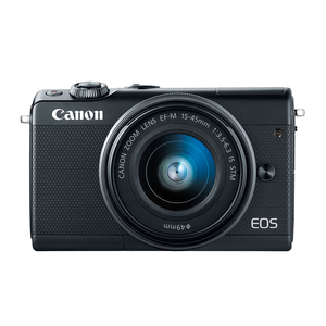 Canon Mirrorless Camera EOS M100 EF-S 15-45 IS Black